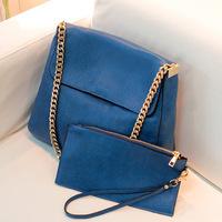 2013 New Korean female bag   RetroStyle bag chain bag casual shoulder bag BG-1040