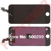For iPhone 5s LCD Screen Display with Touch Screen Digitizer +frame Assembly by free shipping; black; 100% warranty