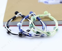 Beads heart bracelet jingdezhen ceramic accessories hand made ceramic beads jewelry accessories bracelet