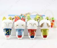 Many cat cartoon unique ceramic accessories necklace belt