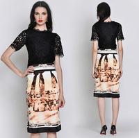 2013 To 2014 European Fashion Autumn and Winter Expansion Bottom Woolen Coat Women