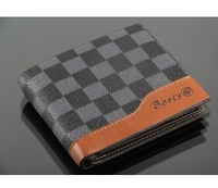 2013 genuine leather male wallet vintage cowhide wallet short design nubuck leather folder