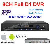 free shipping DHL!free shipping CCTV 8CH Full D1 H.264 DVR Standalone Super DVR Security System 1080P HDMI Output DVR recorder