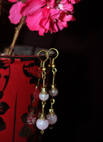 Hanfu classical earrings cos costume earrings drop earring short design