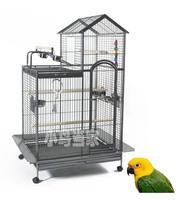 Swinging luxury parrot cage bird