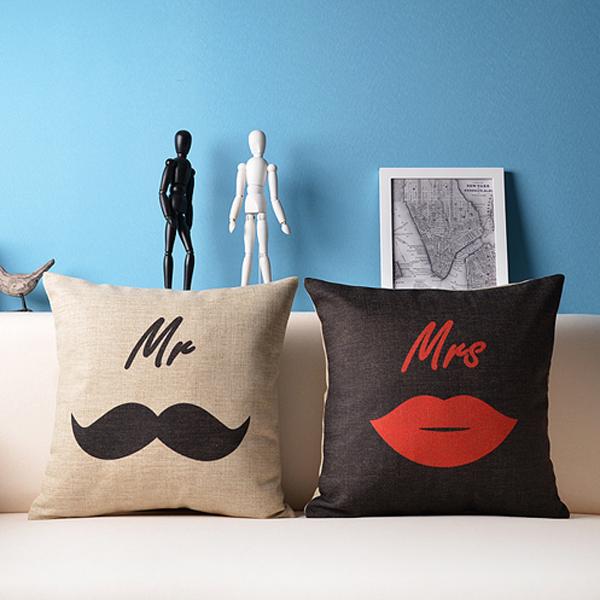 Декоративная подушка для мужчины