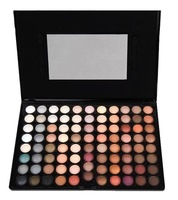 Itv : 88 eye shadow plate earth color dull pearl nude makeup smoked