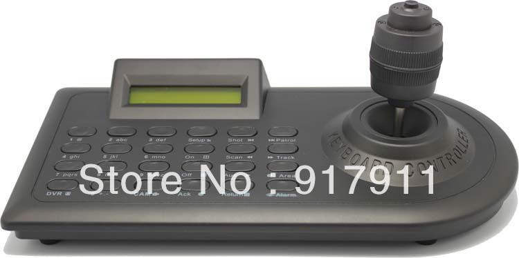 SK-401 Rs485 4-Axis joystick cctv PTZ remote Control Keyboard support speed cameras, DVR programming menus for PTZ camera(China (Mainland))