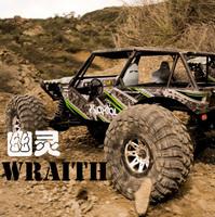 Axial wraith scx10 ax90018 all terrain vehicle climbing car RTR version-4 wheel  drive