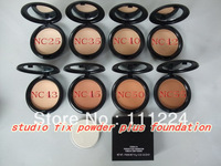 (Free shipping DHL)36pcs/lot Brand Name M NEW Studio *Fix* Powder Plus Foundation Hot sale makeup  Face Powder NC Ann-P007