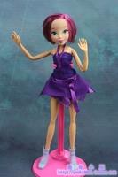 Free Shipping New Original Winx Club Basic Toys For Children Tecna Girls  Dolls 30CM