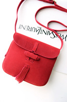 Xys one shoulder small bag vintage scrub genuine leather small bag shoulder bag small bag