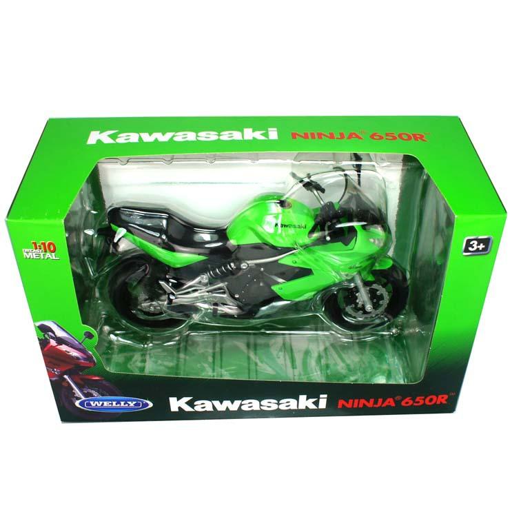1:10 Proportion Motorcycle Plastic&Alloy toys model For kawasaki NINJA 650(China (Mainland))