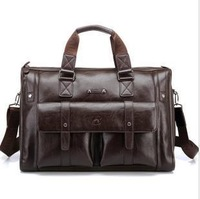 Large capacity male 15 handbag laptop bag briefcase travel bag male big bag