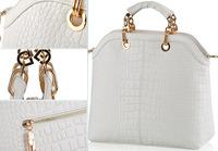 2014 women's handbags crocodile pattern honourable elegant quality fashion bags one shoulder bag cross-body handbag