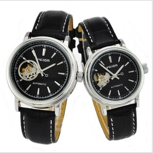 Genuine Wilon couple tables hollow automatic mechanical watch men watch fashion female form 2036