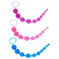 Wholesale Jelly Anal Beads ,9balls, anal plug,Butt Plug, Anal Toys For Women
