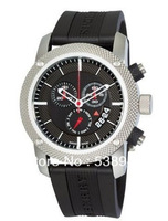New Authentic Endurance Men Chronograph Black Rubber Strap Watch 44mm BU7700 7700 Swiss movement Sapphire glass Original box