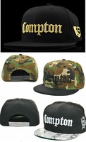Compton hip-hop cap snapback adjustable hat bboy hiphop flat brim cap