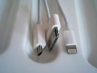 Free shipping USB multi compatible sync charger cable,1 of 3 using at the same time pls