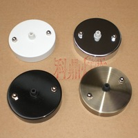 Wholesale Diy lighting lamps plate pendant light disk ceiling box wall lamp box kit with screw wholeset free shipping near Asia