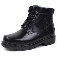 Winter male cotton leather cotton wool men's cotton-padded shoes high cotton boots male cotton-padded shoes genuine leather