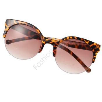 Солнцезащитные очки в стиле Ретро, унисекс, оправа на половину стекла.