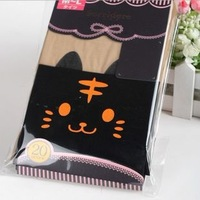 Cartoon little tiger tigher over-the-knee gaotong pantyhose stockings