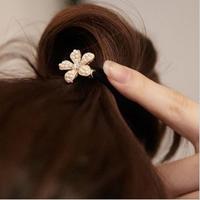 Alloy pearl quincunxial hair bands headband hair rope tousheng ball head hair accessory hair accessory h