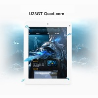 "Cube U23GT Quad Core 8"" Tablet PC Android 4.1 RK3188 Cortex A9 1.8GHz 1GB + 16GB 1024x768 Capacitive Screen Camera HDMI MID"