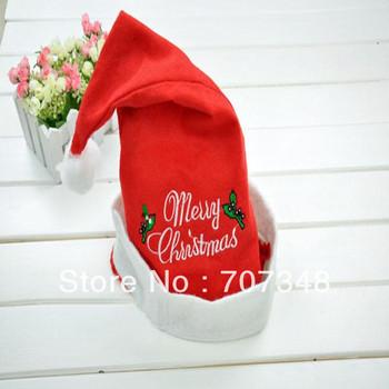 High Reputation Hats Seller!!!12 Pieces/Lot,Wholesale/Retail Santa Claus Hat Sale,Santa Claus Christmas Hat/Nonwovens Santa Hat