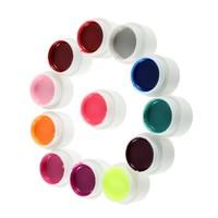 1 Set Top Coat For Lamp Decoration 36 Color Nail Art Glitter UV Gel Polish Soak Off Drop Shipping Wholesale