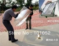 Christmas gift HW-F1000-5 square shap solar fresnel lens for solar energy