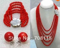 Top selling Great coral necklace nice wholesale wedding Stone necklace