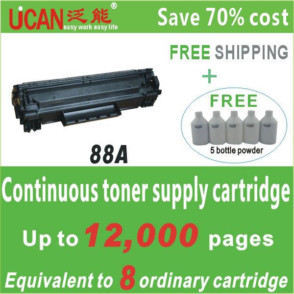 88A /35A/12A/36A/78A Toner Cartridge ,like ink cartridge holder,save money(China (Mainland))