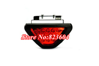 F1 RED 12 LED Tail Stop Brake Light Clear Lens Diffuser Flashing Safety lamp Rear