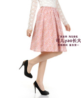 Short design linen short skirt bohemia skirt bust female pink small bust skirt