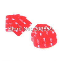 Free shipping 50set/lot 3M sticker Set (3pcs for flat, 3pcs for arc mount), for GoPro Hero 3+/3/2/1, Gopro Accessories GP14