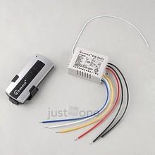 220v-240v 3 canales digitales interruptor de pared inalámbrica cuadro divisor + control remoto(China (Mainland))