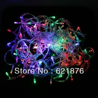 100Leds 10M string light Fairy lights  form Wedding Party Christmas party Valentine's day  Fairy String LED STRING freeshipping