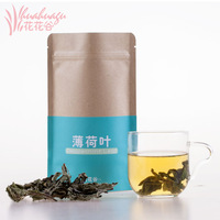 Flowers  herbal tea mint leaves fresh dry mint leaves mint tea herbal tea 30g