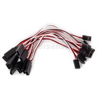 10pcs 15CM Servo Extension Lead Wire Cable for Futaba JR