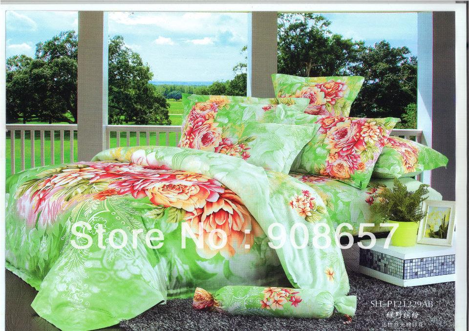 achetez en gros verte couette pleine en ligne des grossistes verte couette pleine chinois. Black Bedroom Furniture Sets. Home Design Ideas