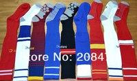 2013 2014 new season Football Socks Knee High Stocking long Thicken Bottom Soccer Socks for men sportswear casual training socks