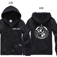 Free Shipping New Anime Dangan-Ronpa  Hooded Sweatshirt Cosplay Hoodie Costumes
