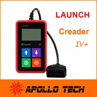 2014 New Release 100% Original Launch Creader IV+ Universal Auto Code Scanner CReader IV Plus OBDII Car Scanner CReader 4