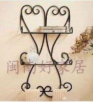 Fashion iron frame towel rack