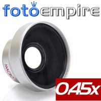 37mm 0.45x Wide Angle & Macro Conversion Lens 0.45x 37 Wide-Angle Lens with Macro 37 mm mount for Sony HVR-A1E,A1U,HD1000U
