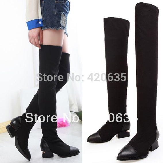 Flat Over The Knee Boots Cheap - Yu Boots