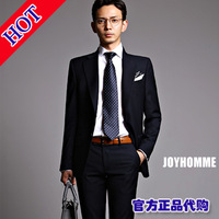 New arrival 2013 suit male suit slim set married suit